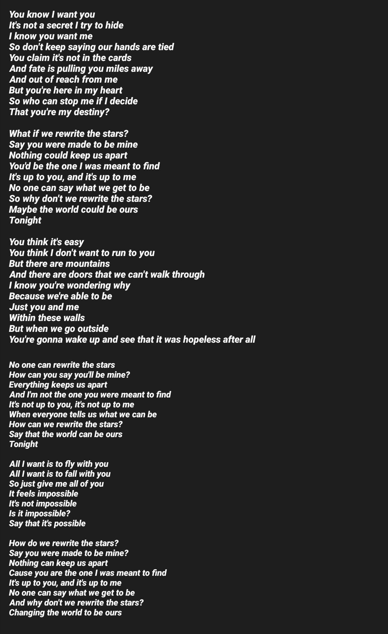 If you were here with me tonight lyrics