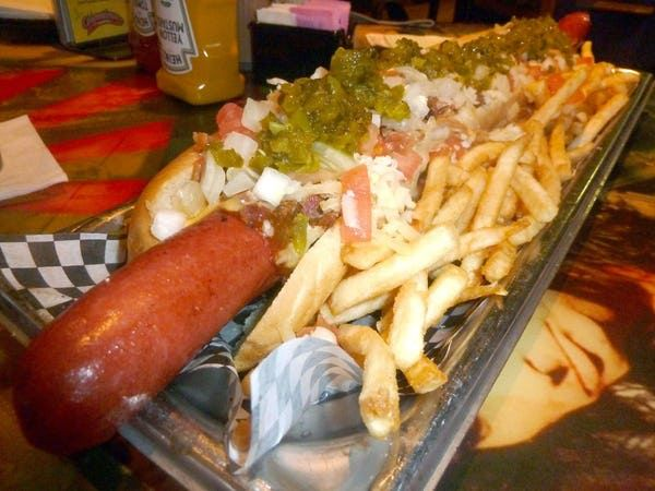 Pictures Of The Biggest Hot Dog In The World