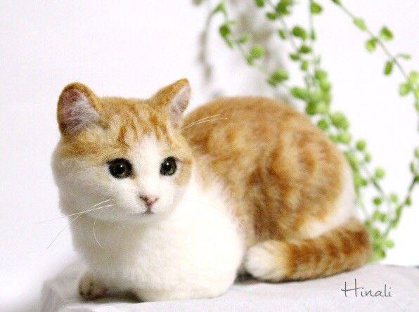 Gallery2 - Hinali羊毛フェルト猫 ちょっとリアルでかわいい猫たち