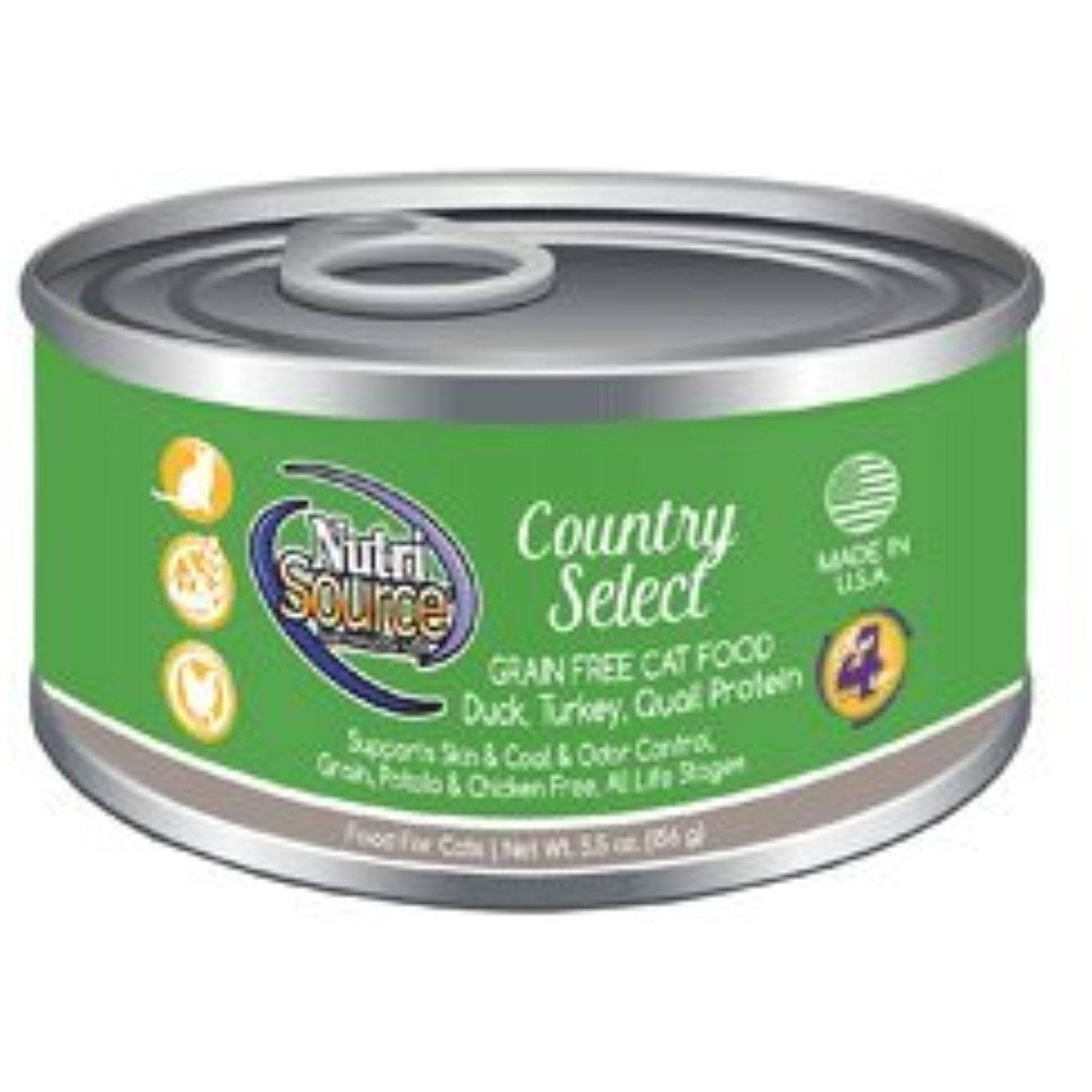 NutriSource Grain Free County Select Canned Cat Food