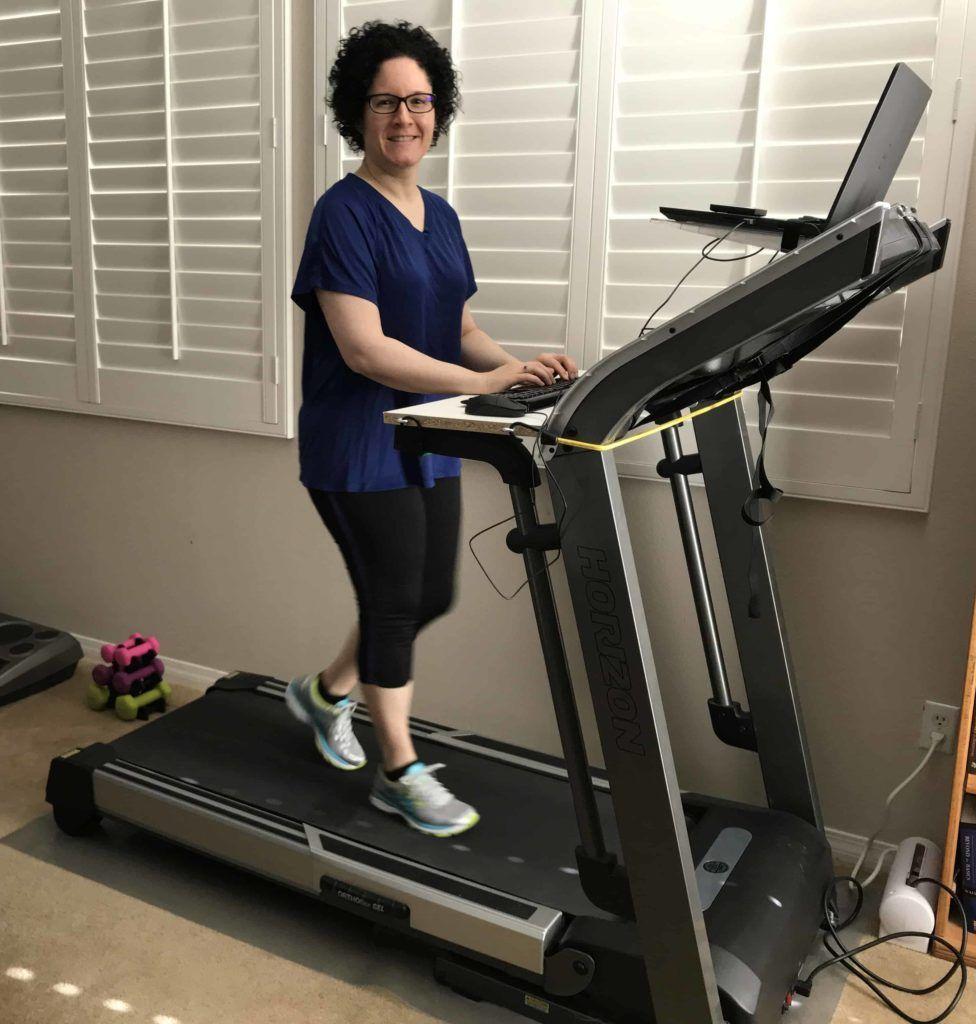Diy under desk treadmill using your existing treadmill