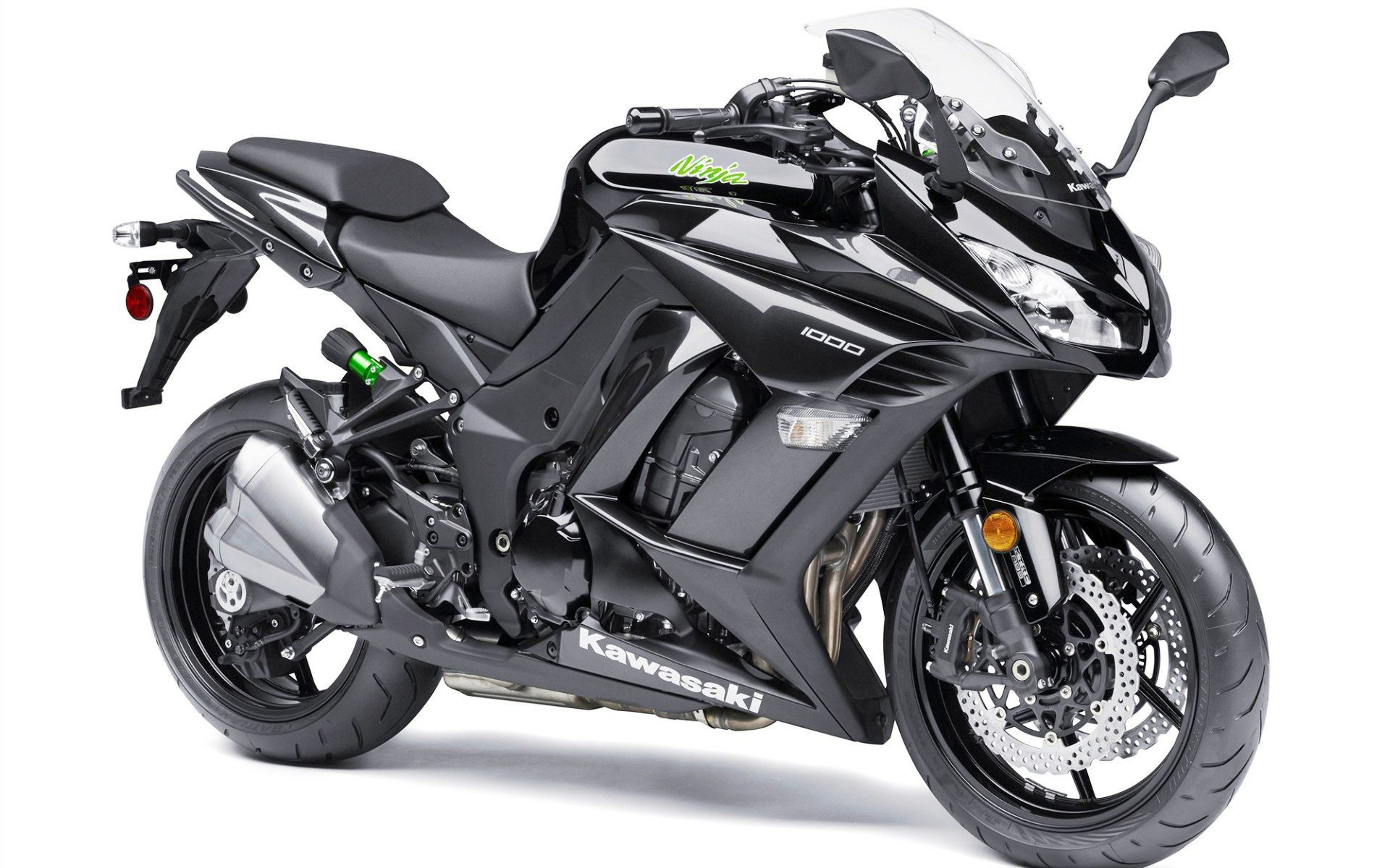 2015 Kawasaki Ninja 1000 ABS Black Wallpaper