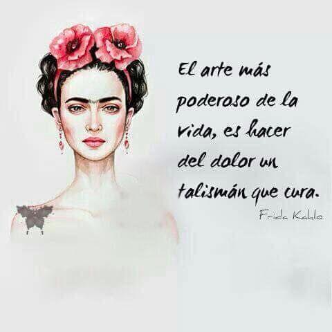 Imagen De Frida Kahlo Para Facebook Con Frases Frida Kahlo