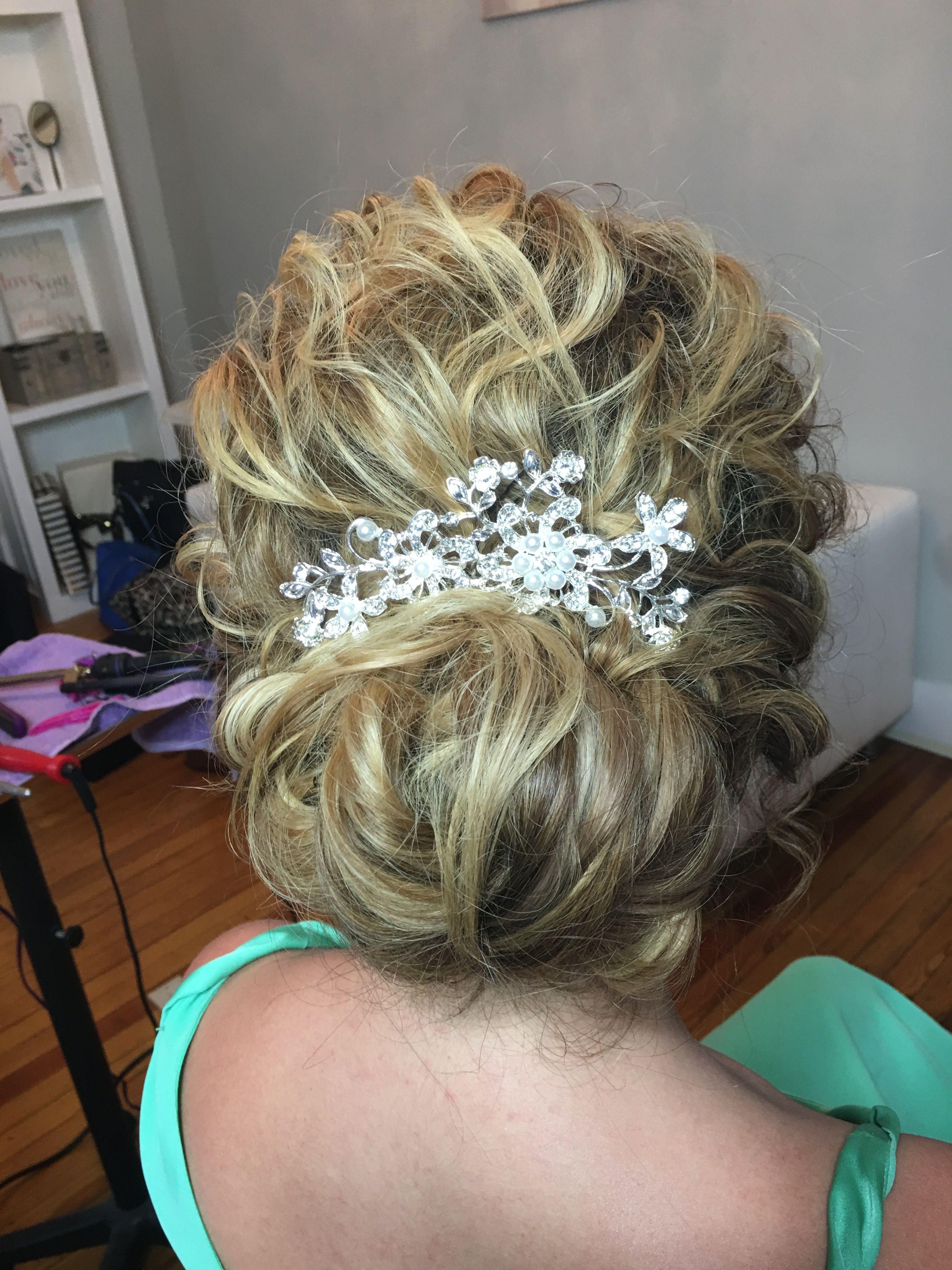 Wedding Airbrush Curls Glamor Beauty Makeup Hair Curls Soft