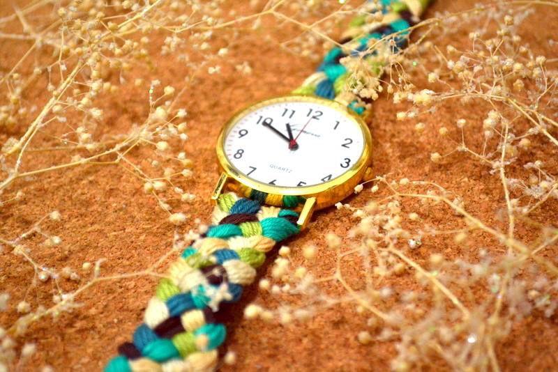 #reloj #tejido