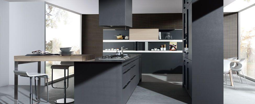 Bruynzeel keuken inspiratie pinterest lava ontwerp en - Keuken grijs en blauw ...