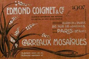 1907 Entreprise Edmond Coignet
