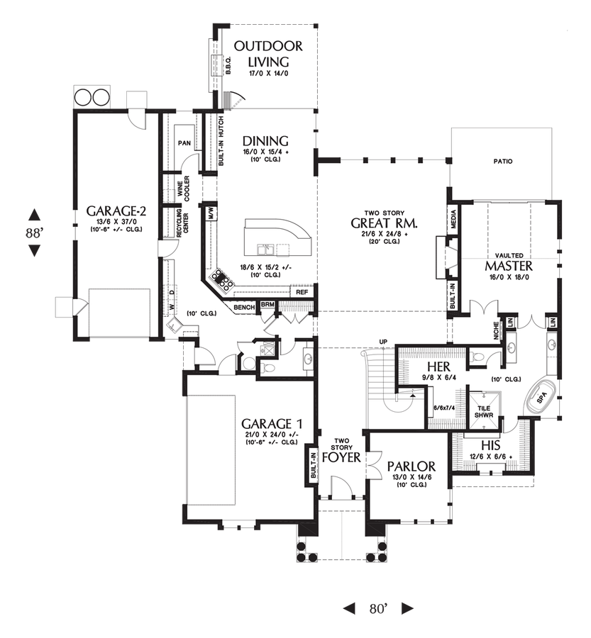 Image for RutledgeA majestic home design with presence and – Majestic Homes Floor Plans