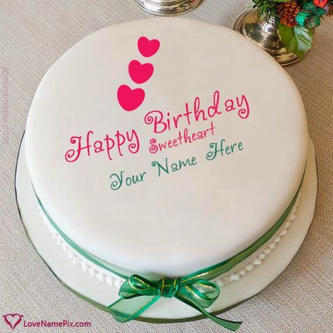 Special Birthday Cakes For Girlfriend With Name Photo Happy
