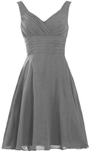 ed95f131e1a ANTS Womens Pleated Sweetheart Bridesmaid Dresses A Line Cocktail Gown Size  6 US Grey    Check out this great product.(This is an Amazon affiliate link  and ...