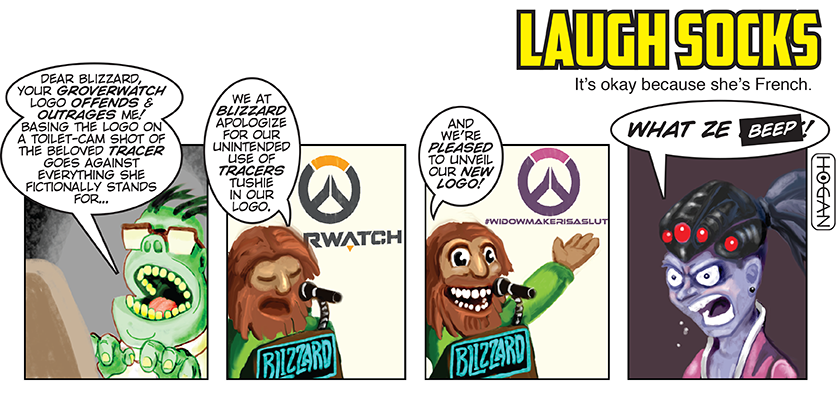 Overwatch comic, I warn you once you see it you can't un-see it!