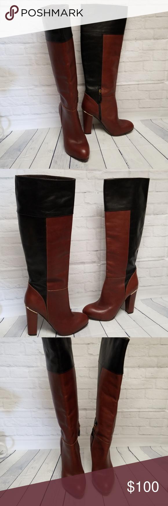 fa591f12e11e1 Vero Cuoio Boots Good used condition. See pics for wear. Vero Cuoio Shoes  Heeled Boots
