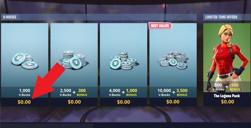 Skin Fortnite 800 V Bucks Saison 10 Gaming24 Tips To Get Vbucks Skins For Free