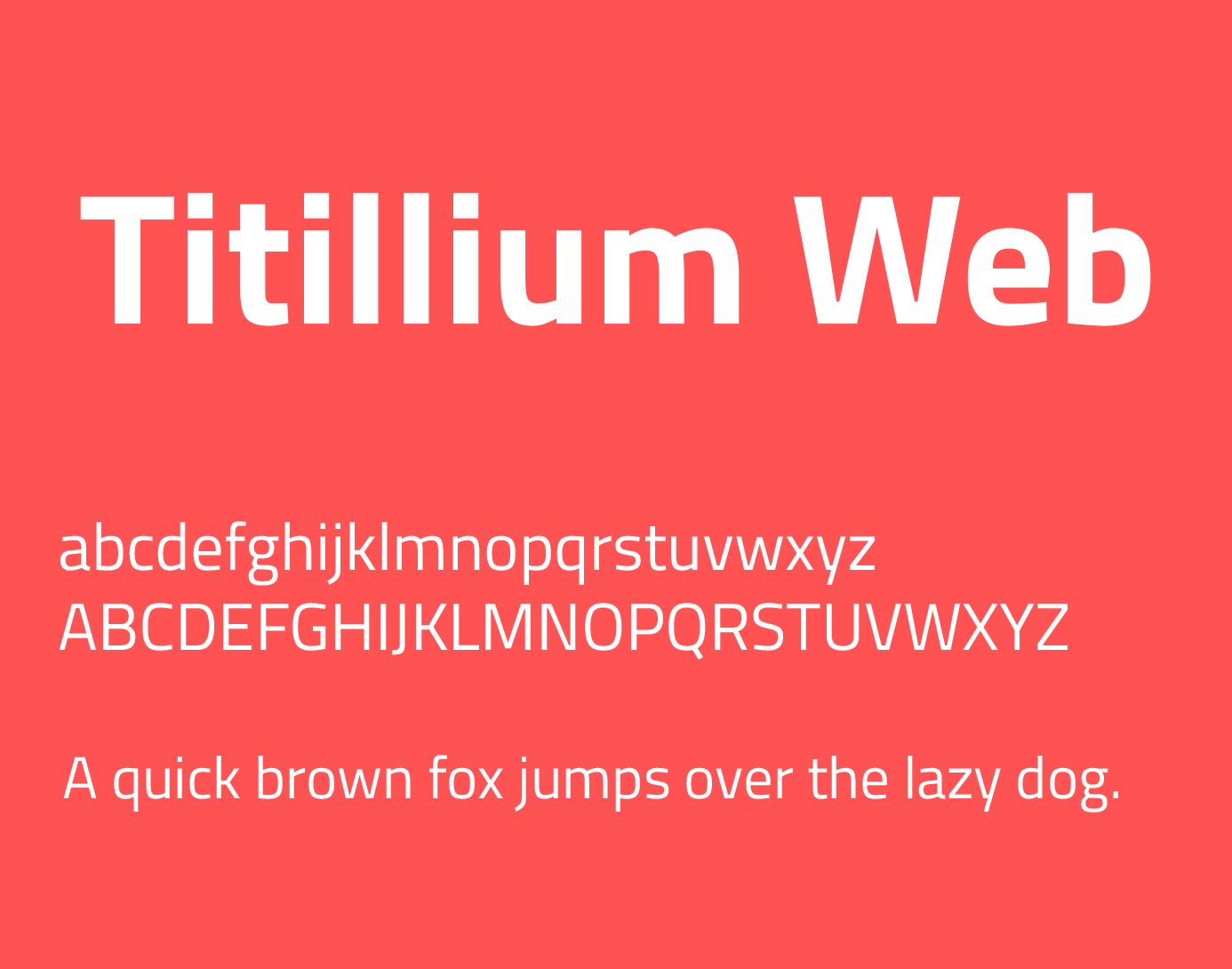 Titillium Web Font Free Download | Collection Chumbart™ | font