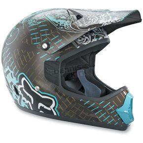 Fox Womens Tracer Pro Print Helmet   Motor Sports   Dirt