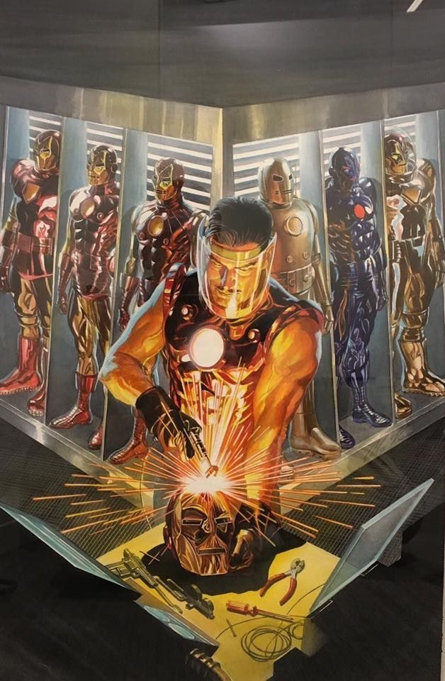 Iron Man by Alex Ross