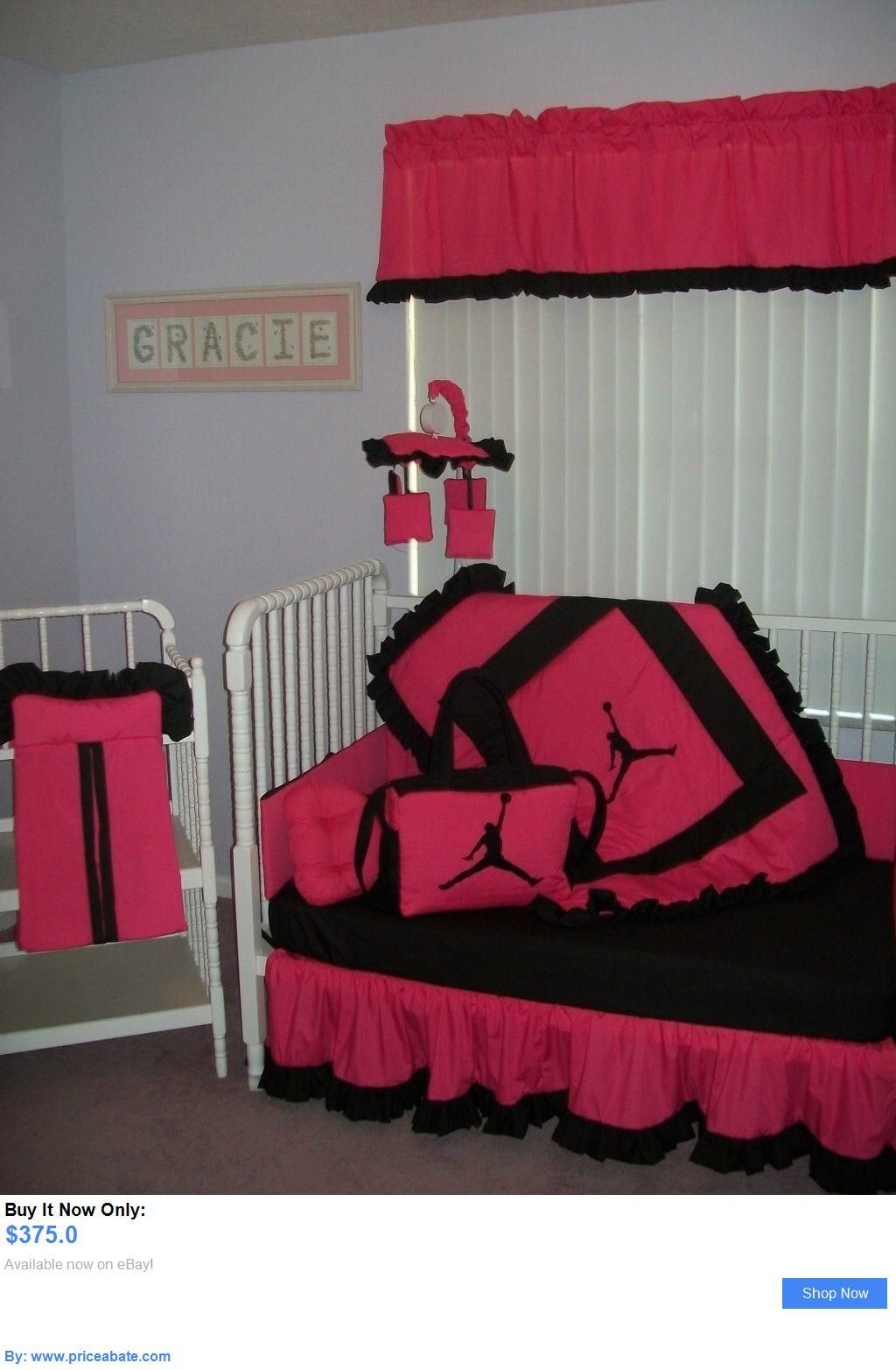 Michael Jordan Baby Clothing Crib Bedding Set Mobile Diaper Bag In Hot Pink And Black It Now Only 375 0