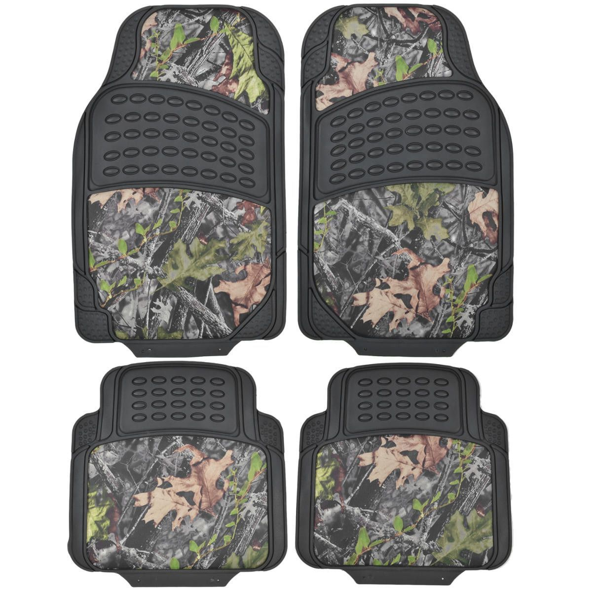 Heavy Duty Camouflage Inlay Floor Mats