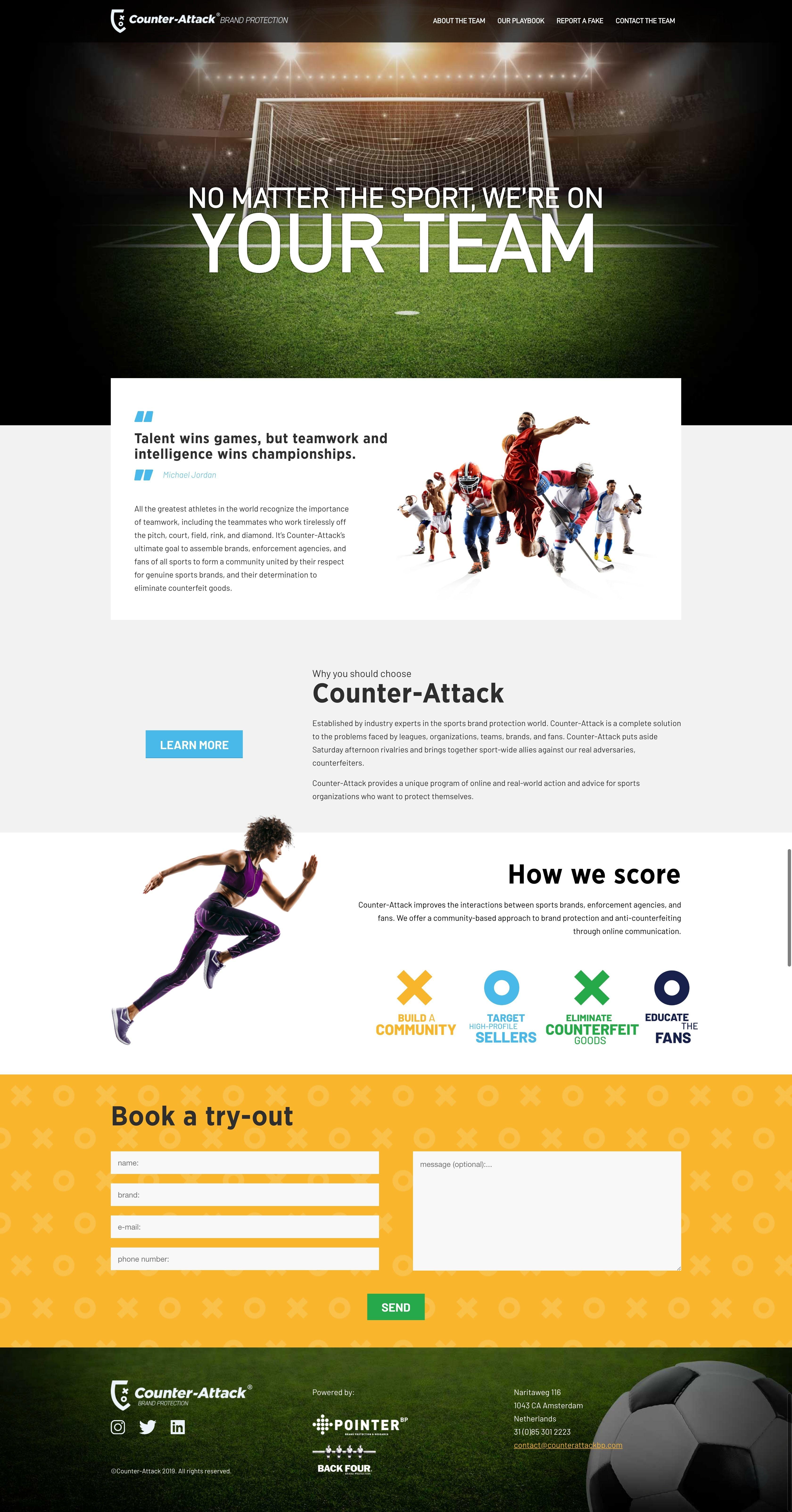 Website Design For A Brand Protection Company Webdesign Wordpress In 2020 Website Development Professional Web Design Website Design