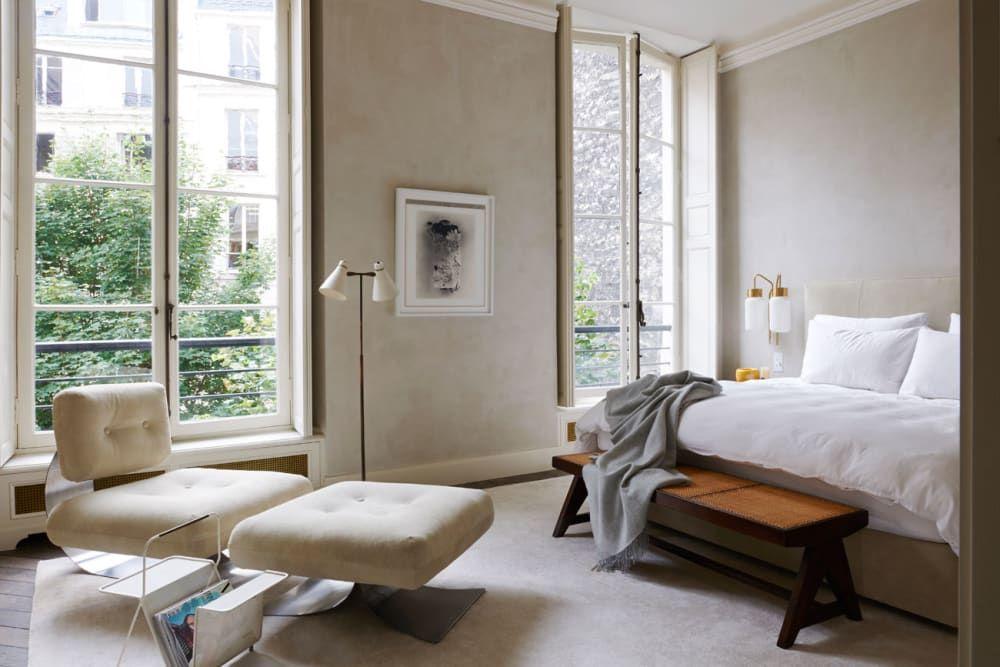 Joseph Dirand Lässige eleganz, Präzision und Minimalismus - schlafzimmer einrichtung nachttischlampe