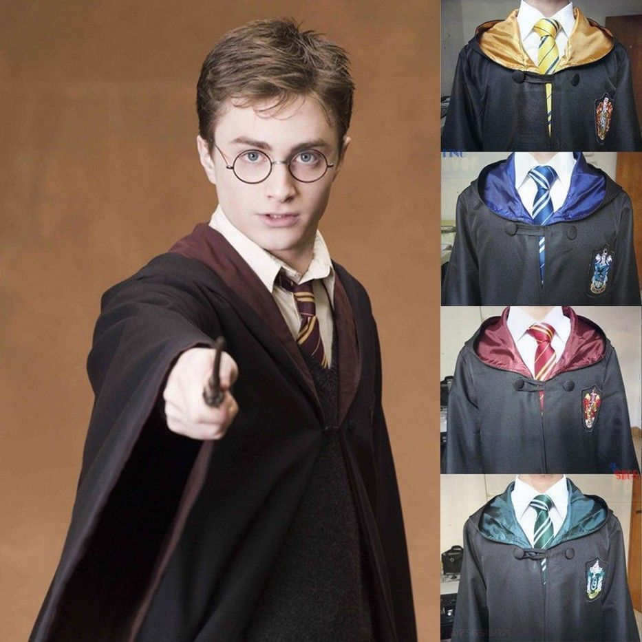 Maternity Ingenious Gewand Mantel Harry Potter Erwachsene/kinder Magie Robe Cosplay Kostüme Cape