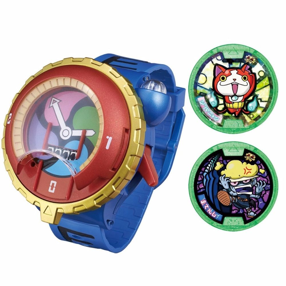 2016 Hot Dx Yo Kai Watch Japan Anime Yokai Watch Lighting And Sound Yokai Watch Personnages De Jeu Vidéo Kai