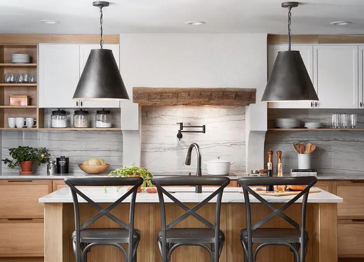 joanna gaines s best kitchen update tips purewow joanna gaines kitchen kitchen design diy on kitchen layout ideas with island joanna gaines id=74687