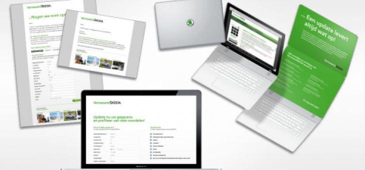 Gegevens-update VerrassendSKODA   Creative Result Communication