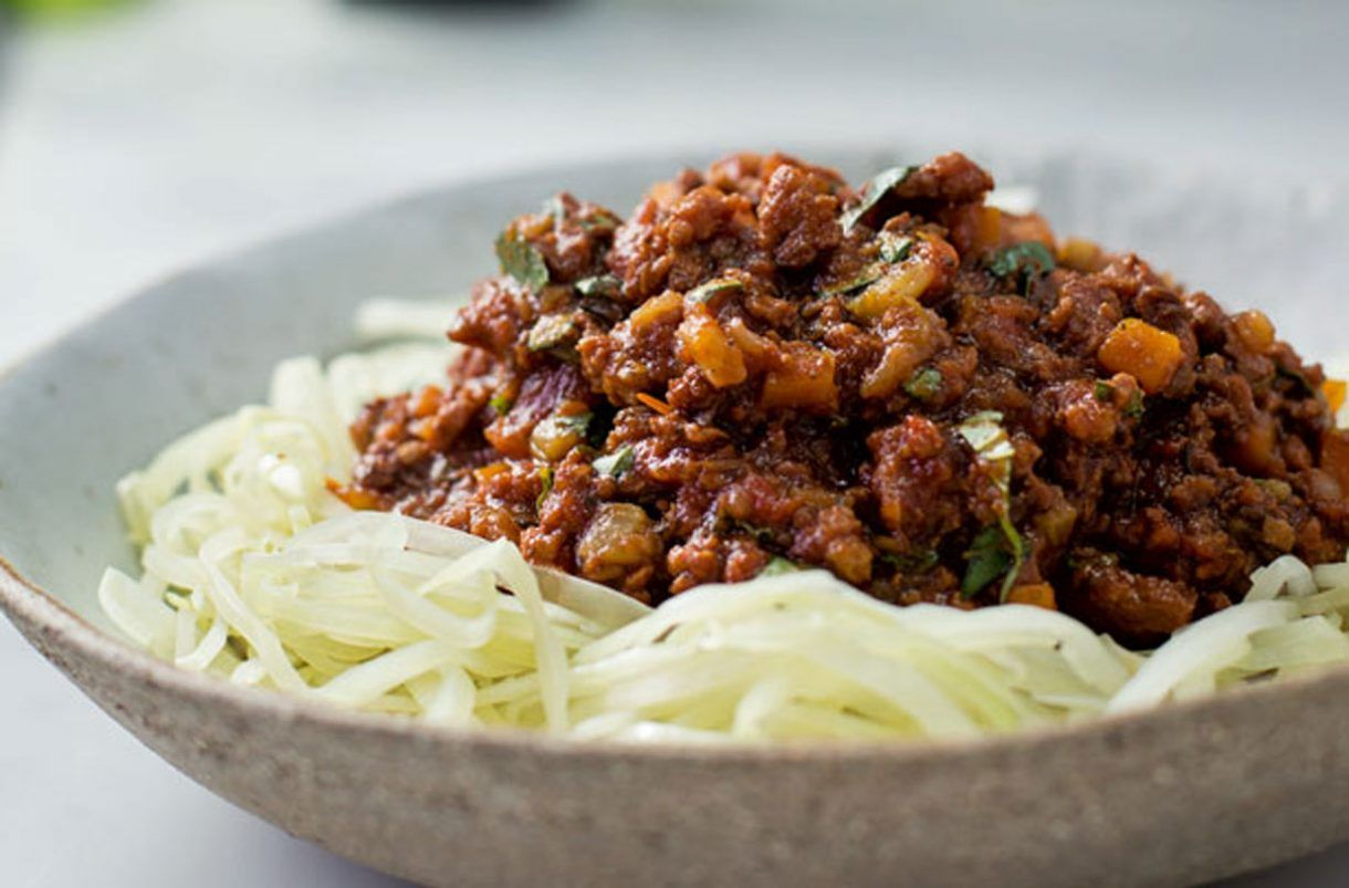 Tom Kerridge's Turkey Ragu With White Cabbage Linguine ...