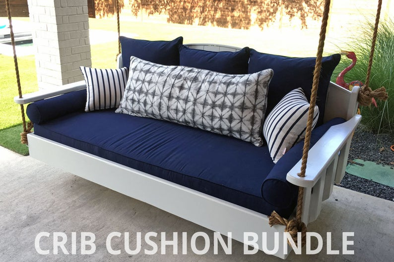 Sunbrella Outdoor Daybed Cushion Set Bolsters Back Pillows Etsy In 2021 Daybed Swing Outdoor Daybed Cushion Outdoor Daybed Porch swing cushions with back