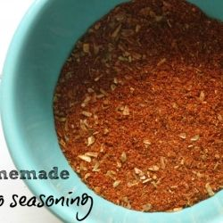 Homemade Taco (and Chili) Seasoning - Quick and easy way to cut out mystery ingredients from your favorite family meals