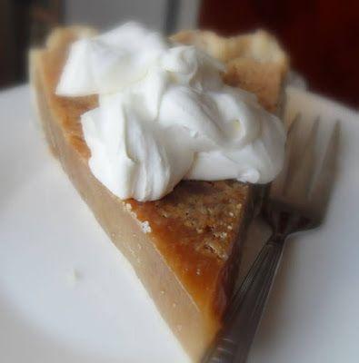 Brown Sugar Cream Pie #sugarcreampie