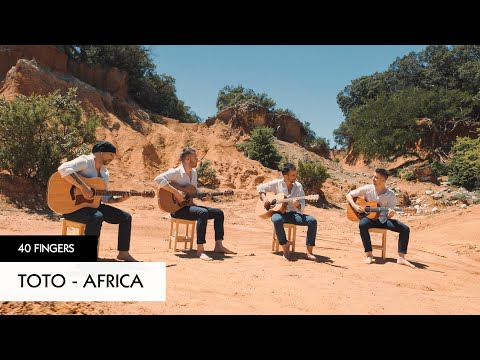 40 Fingers Africa Toto Official Video Youtube Beautiful Cover Africa Toto