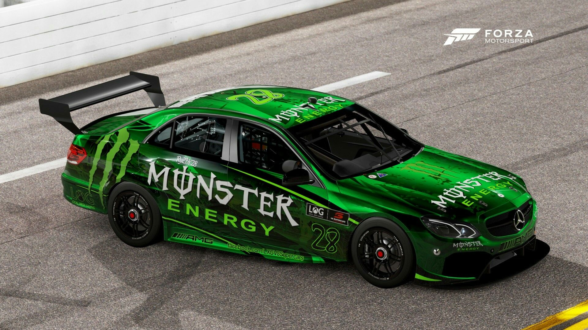 West launches new monster mercedes for daytona local xbox gaming v8 supercars championship
