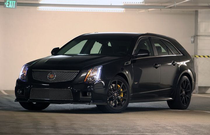 cts v one bad daddy wagon automotive daydreams. Black Bedroom Furniture Sets. Home Design Ideas