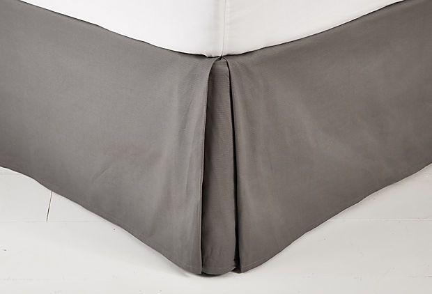 Jacquard Woven Bed skirt on OneKingsLane.com