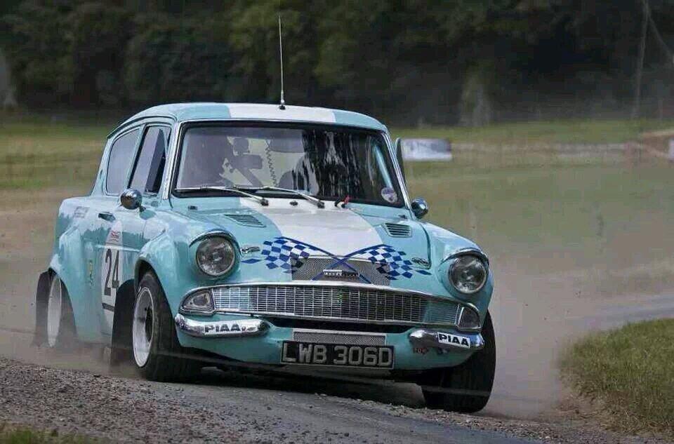 Ford Anglia Classic Racing Cars Ford Racing Ford Anglia