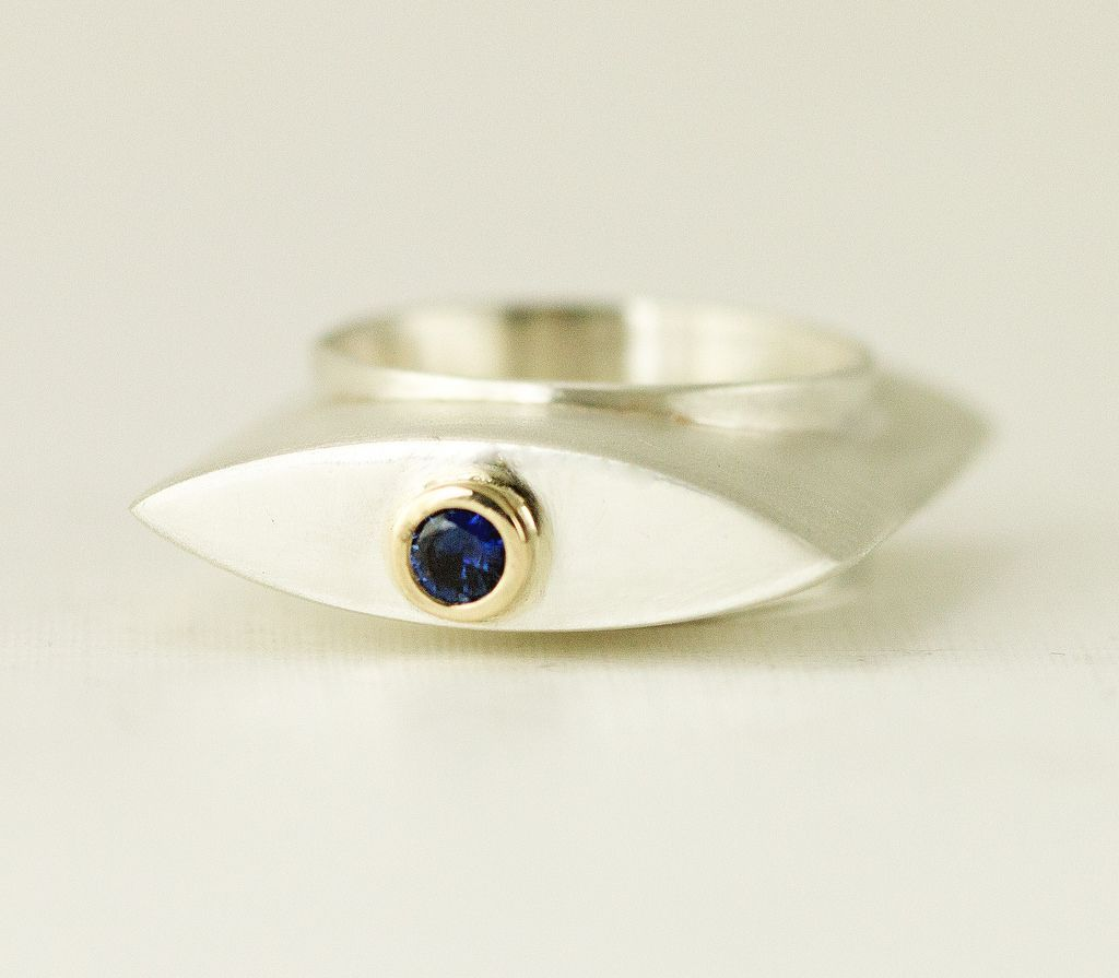Hollow Form Ring - Top