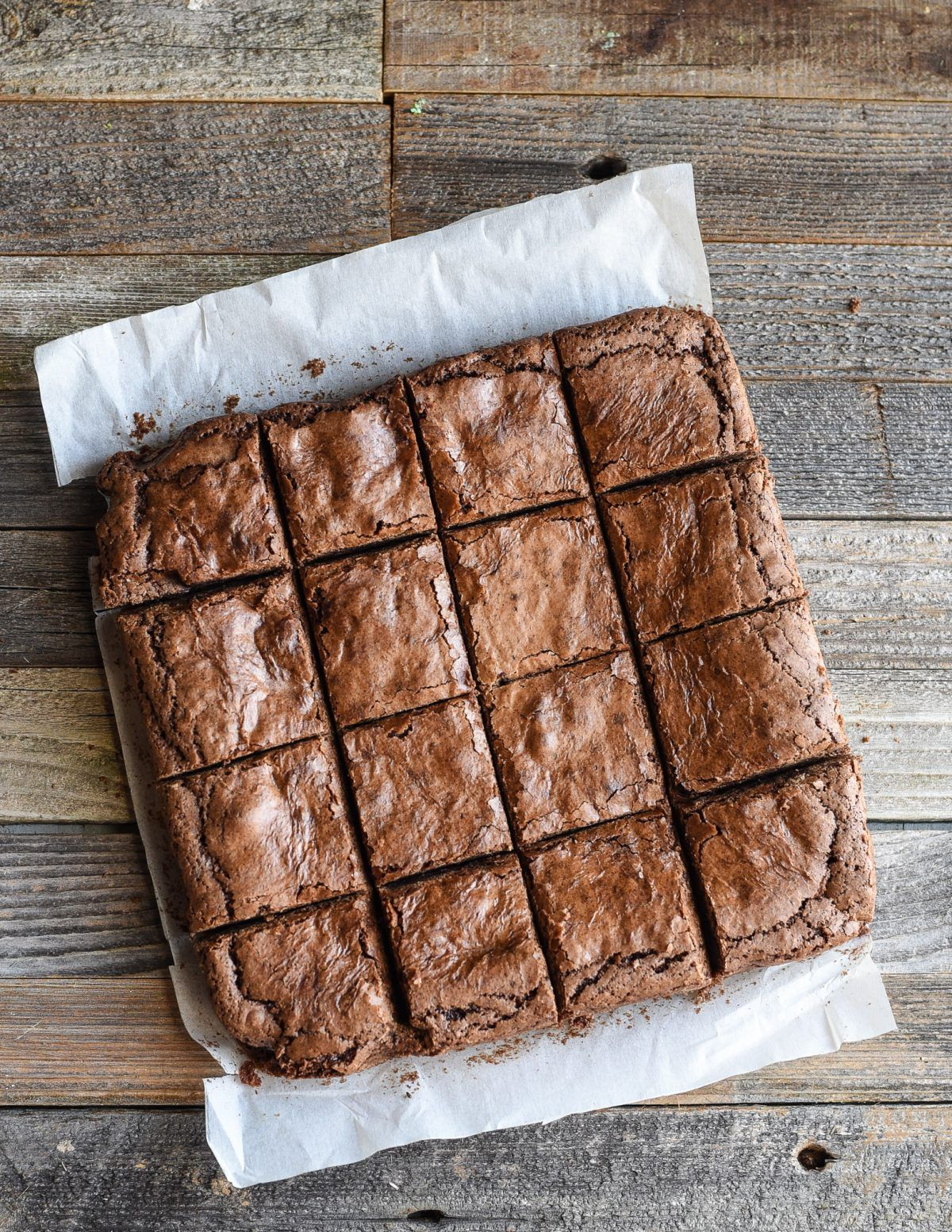 Old-fashioned Brownie | Rezept | Brownies | Pinterest