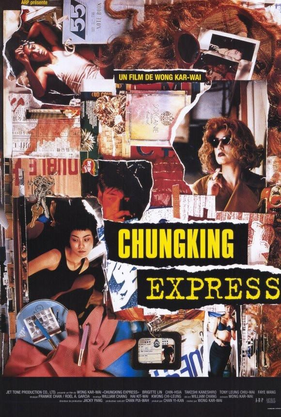 Chungking Express 27x40 Movie Poster (1994) in 2020 | Chungking ...