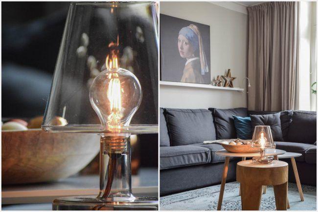 Woonkamer inrichten - sfeerverlichting - Maison Belle ...