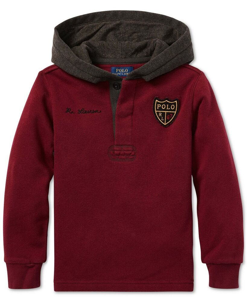 Details about NWT Ralph Lauren Polo Boys Crested Rugby