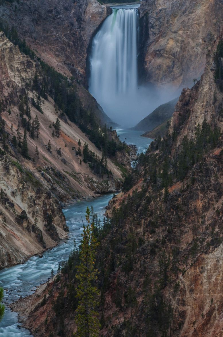 Artist Point at Yellowstone National Park is really