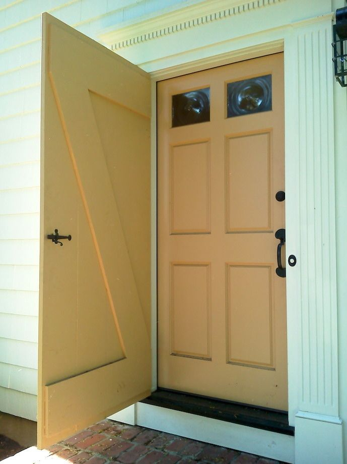 I Havenu0027t Seen A Storm Door Yet That Does Not Make A House Look Trashy.  This Is The First That Is Historically Correct And Also Has Character. Nice  Job!