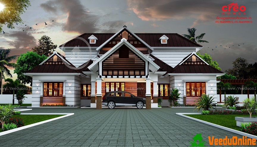 2240 Sq Ft Double Floor Modern Home Design