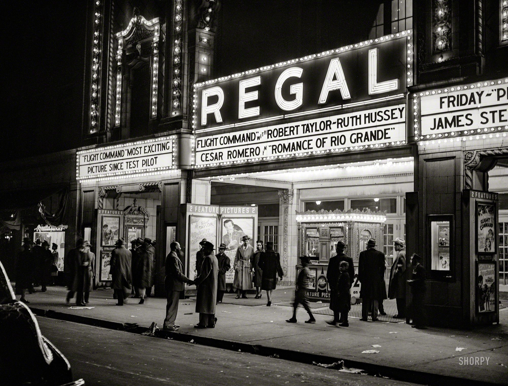 April 1941 Movie Theater Southside Chicago Illinois Shorpy Historic Picture Archive Chicago Movie Theater Chicago Southside