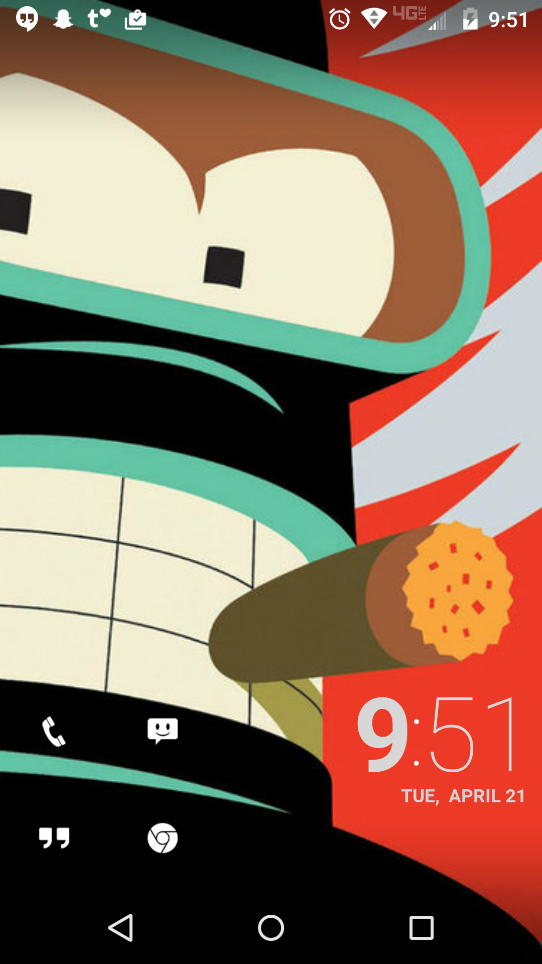 Bender (With images) Android theme, Bender, Homescreen
