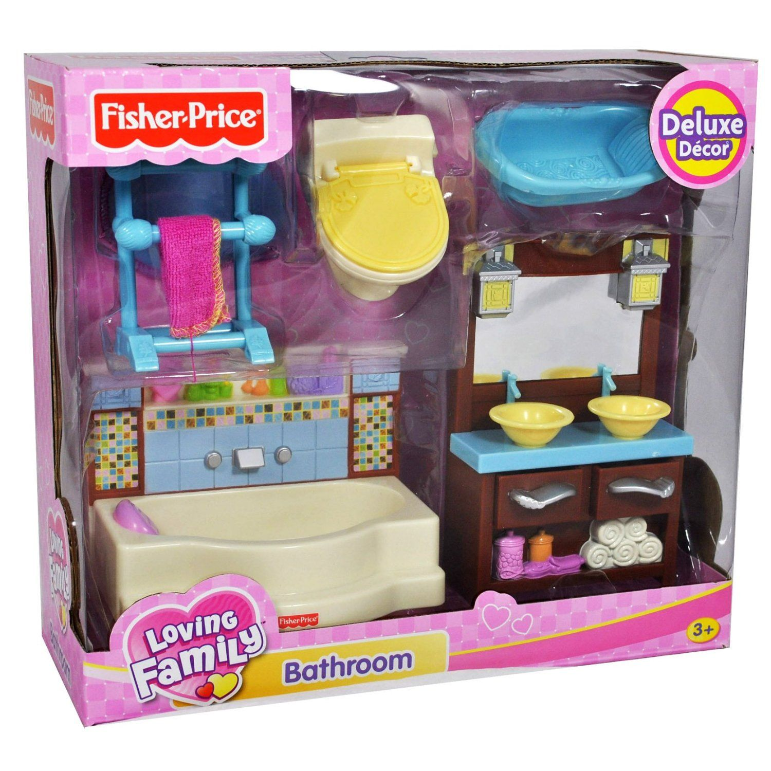 fisher price dollhouse accessories | Fisher Price Loving Family Dollhouse Deluxe Decor Furniture ...