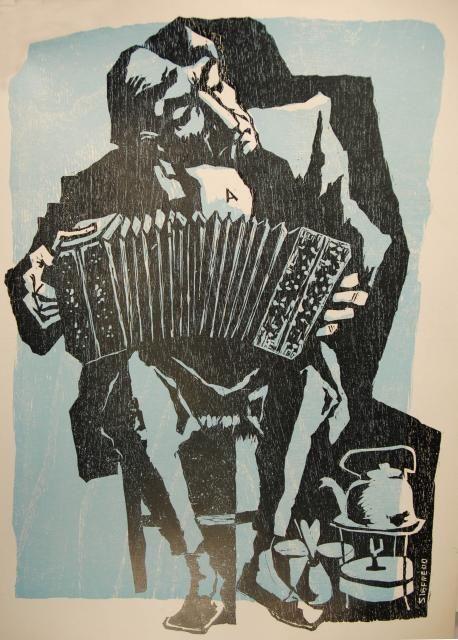 Bandoneon 1930 Pastor Sigfredo Tango Argentino Imagenes