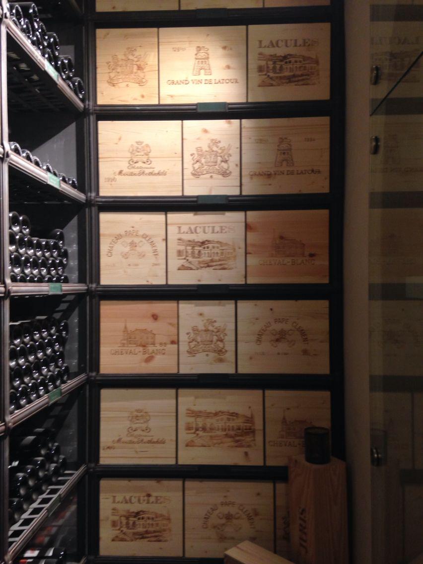 Weinschubladen